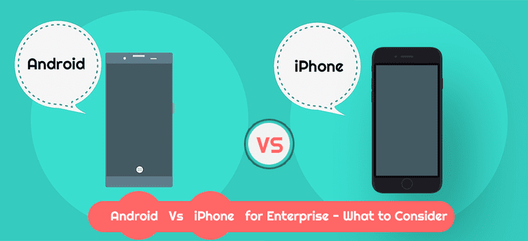Android mobile app development vs iOS app development