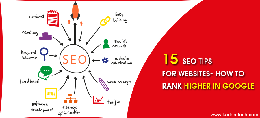 An image of SEO tips for website